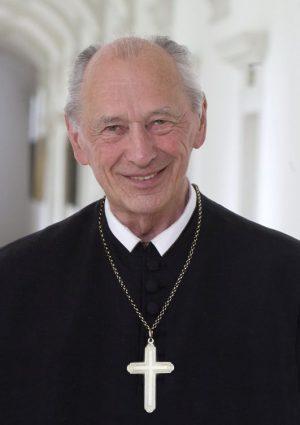 Portrait von Abt Oddo Bergmair