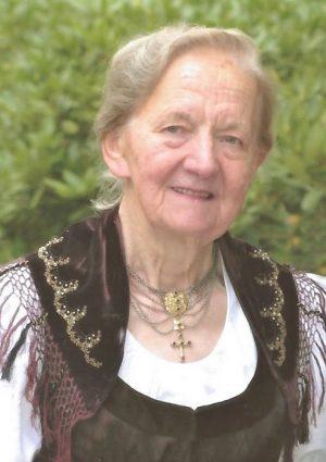 Portrait von Maria Steinmayr
