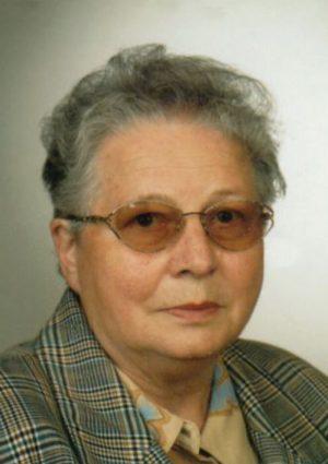 Portrait von Irmgard Firli